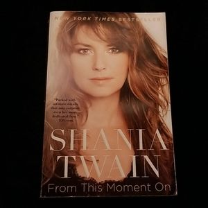 🌸4/$20🌼Shania Twain From This Moment On book